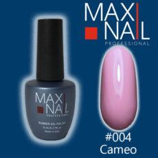 Гель-лак MaxiNail rubber gel polish #004 8 ml