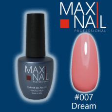 Гель-лак MaxiNail rubber gel polish #007 8 ml