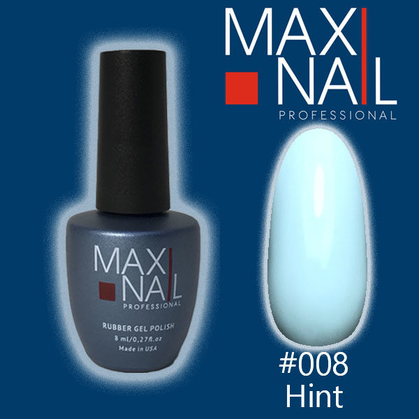 Гель-лак MaxiNail rubber gel polish #008 8 ml