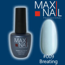 Гель-лак MaxiNail rubber gel polish #009 8 ml