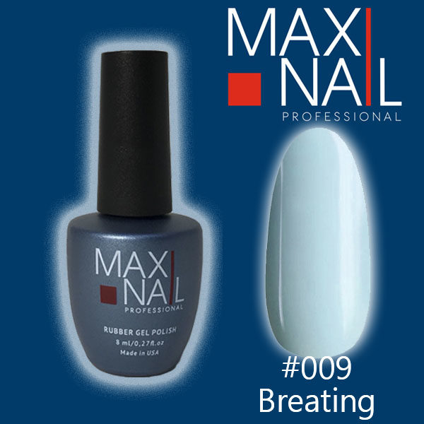 Гель-лак MaxiNail rubber gel polish #009 8 ml