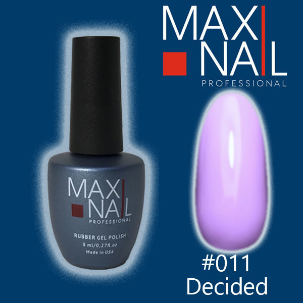 Гель-лак MaxiNail rubber gel polish #011 8 ml