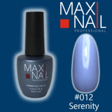 Гель-лак MaxiNail rubber gel polish #012 8 ml