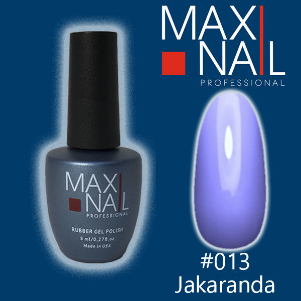 Гель-лак MaxiNail rubber gel polish #013 8 ml