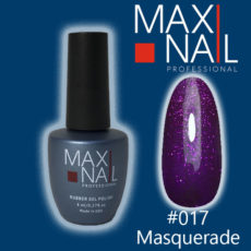 Гель-лак MaxiNail rubber gel polish #017 8 ml