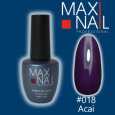 Гель-лак MaxiNail rubber gel polish #018 8 ml