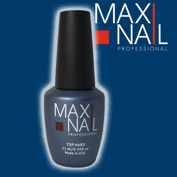 Топ без липкого слоя MaxiNail Top Hard no wipe 12 ml