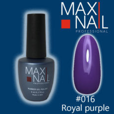 Гель-лак MaxiNail rubber gel polish #016 8 ml