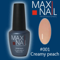 Нюдова база MaxiNail Rubber Cover Base Creamy #001 12 ml
