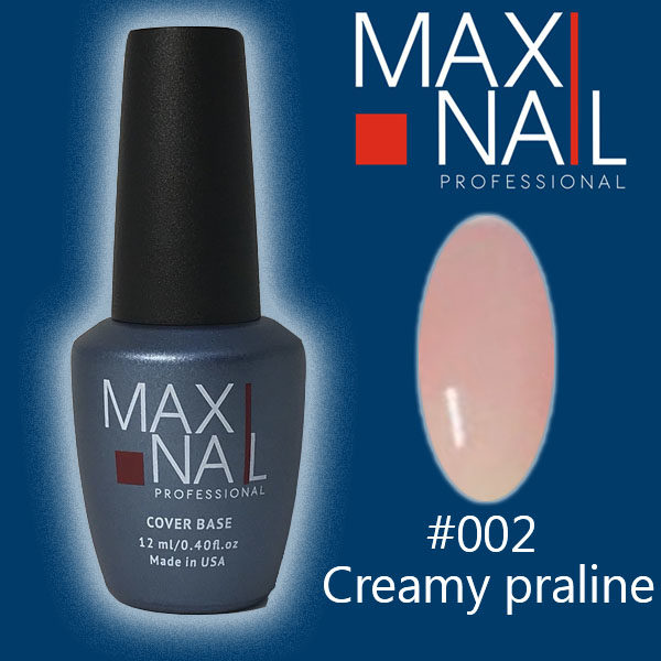 База MaxiNail Rubber Cover Base Creamy #002 12 ml