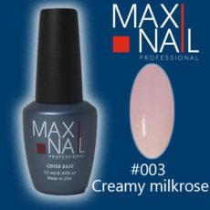 База MaxiNail Rubber Cover Base Creamy #003 12 ml