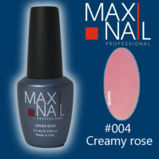 База MaxiNail Rubber Cover Base Creamy #004 12 ml