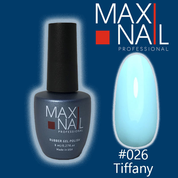 Гель-лак MaxiNail rubber gel polish #026 8 ml