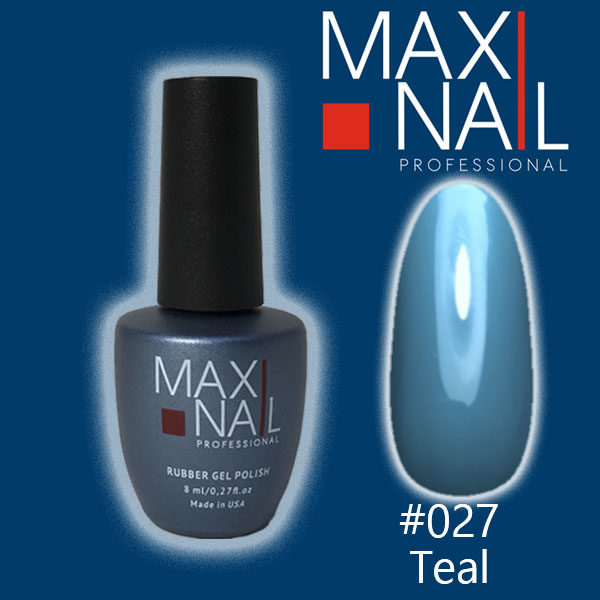 Гель-лак MaxiNail rubber gel polish #027 8 ml