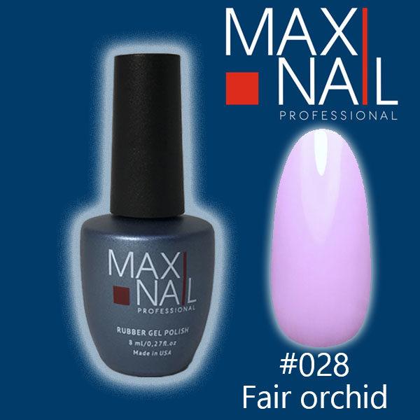 Гель-лак MaxiNail rubber gel polish #028 8 ml
