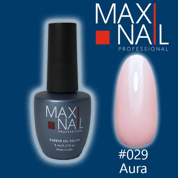 Гель-лак MaxiNail rubber gel polish #029 8 ml