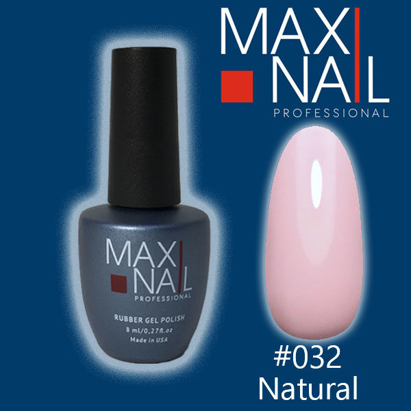 Гель-лак MaxiNail rubber gel polish #032 8 ml