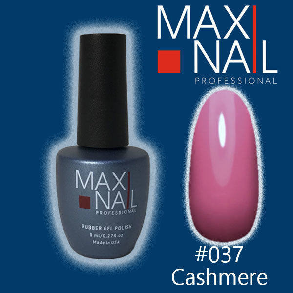 Гель-лак MaxiNail rubber gel polish #037 8 ml