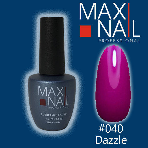 Гель-лак MaxiNail rubber gel polish #040 8 ml