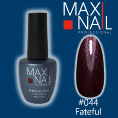 Гель-лак MaxiNail rubber gel polish #044 8 ml