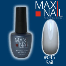 Гель-лак MaxiNail rubber gel polish #045 8 ml