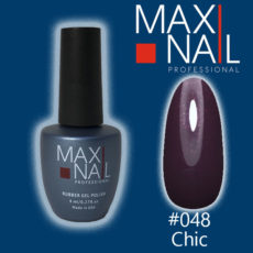 Гель-лак MaxiNail rubber gel polish #048 8 ml