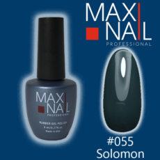 Гель-лак MaxiNail rubber gel polish #055 8 ml