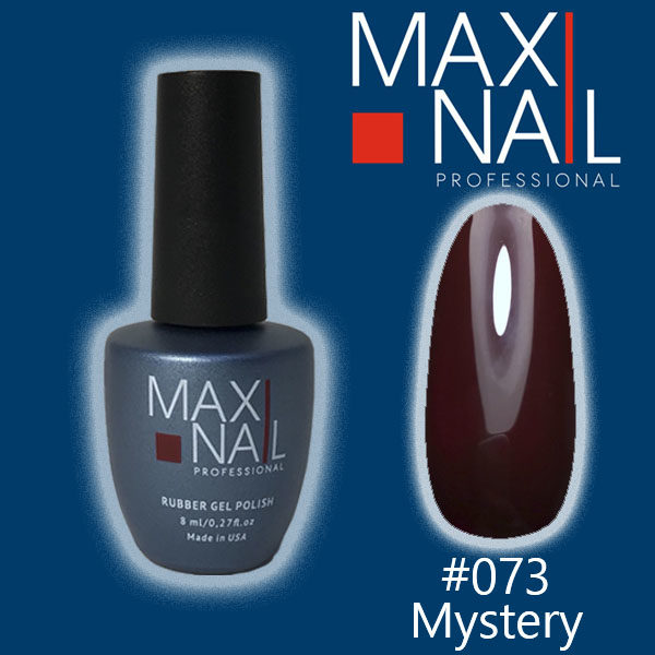 Гель-лак MaxiNail rubber gel polish #073 8 ml