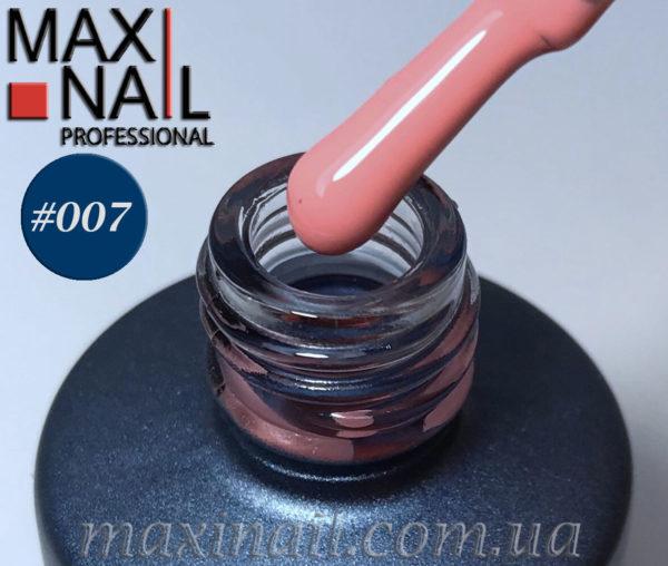 Гель-лак MaxiNail rubber gel polish #007 8 ml