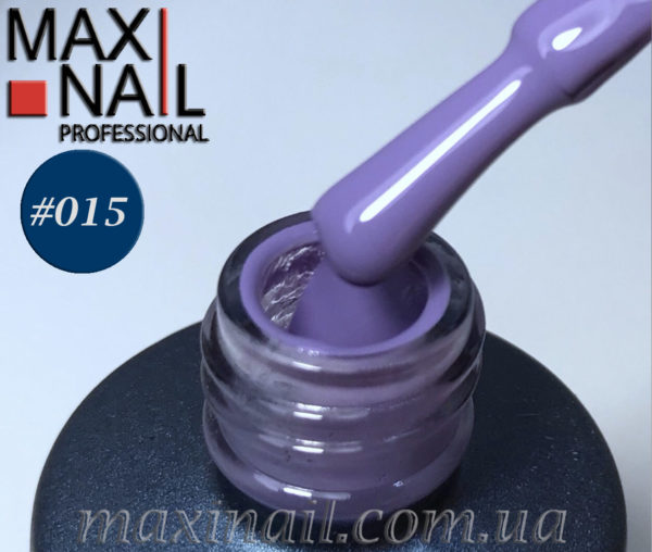 Гель-лак MaxiNail rubber gel polish #015 8 ml