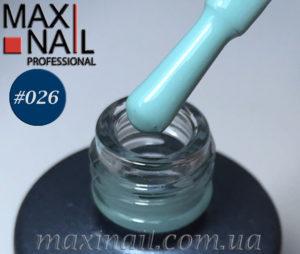 Гель-лак MaxiNail тон 026