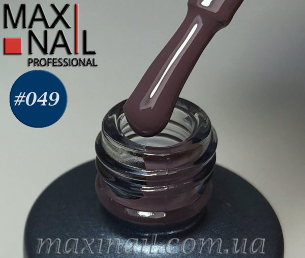 Гель-лак MaxiNail rubber gel polish #049 8 ml
