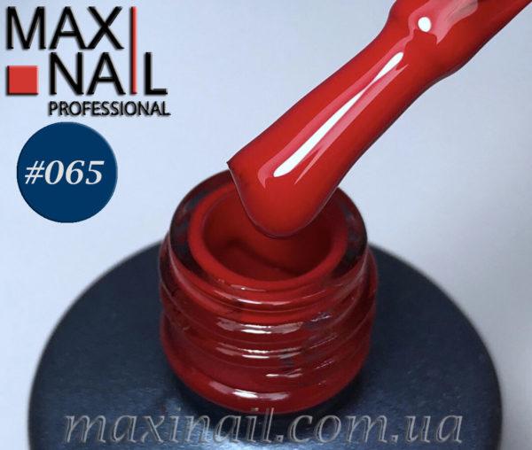 Гель-лак MaxiNail rubber gel polish #065 8 ml