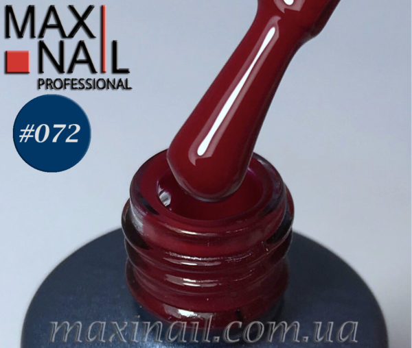 Гель-лак MaxiNail rubber gel polish #072 8 ml