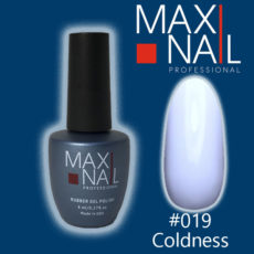 Гель-лак MaxiNail rubber gel polish #019 8 ml