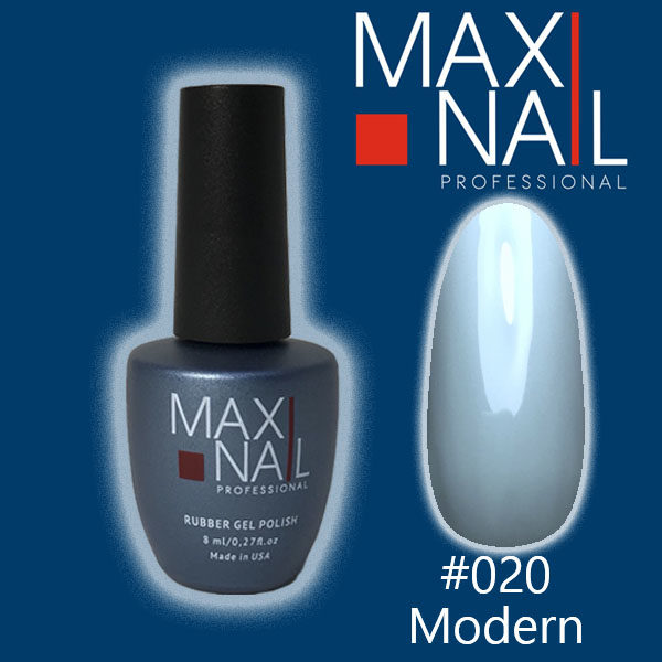 Гель-лак MaxiNail rubber gel polish #020 8 ml