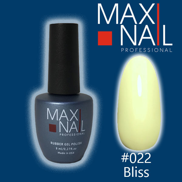 Гель-лак MaxiNail rubber gel polish #022 8 ml