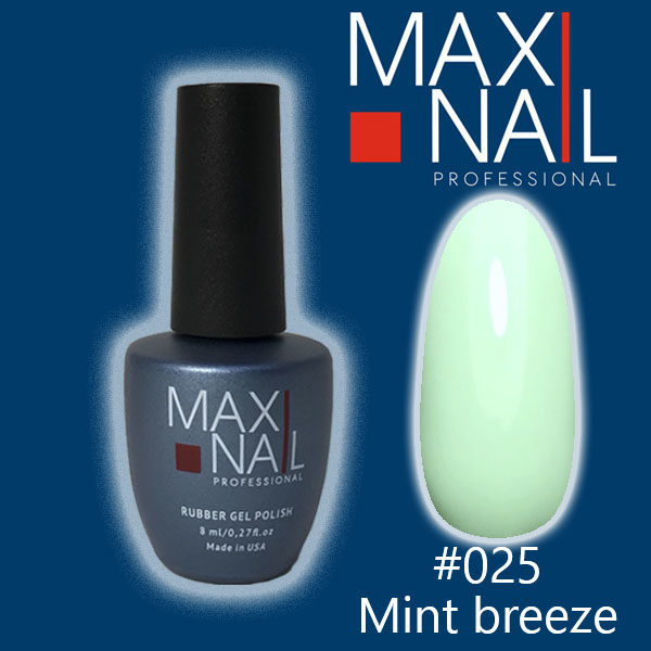 Гель-лак MaxiNail rubber gel polish #025 8 ml