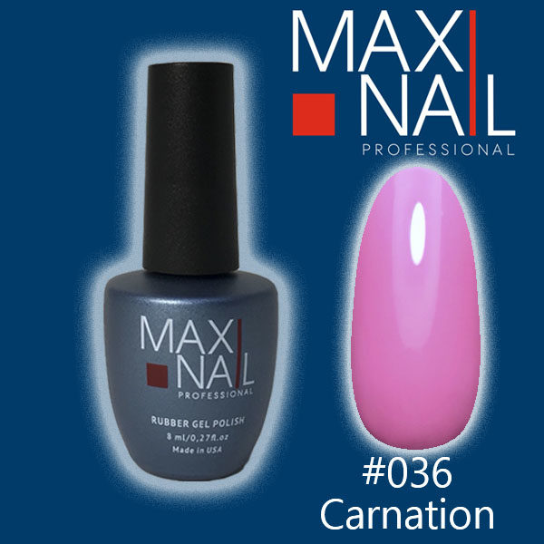 Гель-лак MaxiNail rubber gel polish #036 8 ml