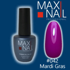 Гель-лак MaxiNail rubber gel polish #042 8 ml