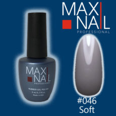Гель-лак MaxiNail rubber gel polish #046 8 ml