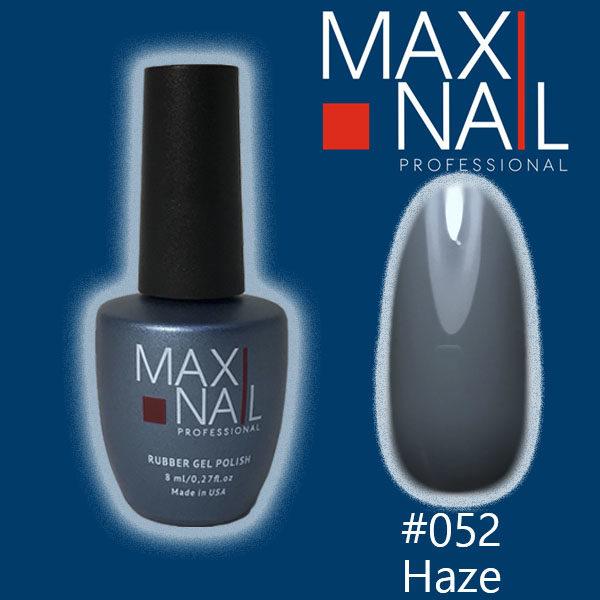 Гель-лак MaxiNail rubber gel polish #052 8 ml