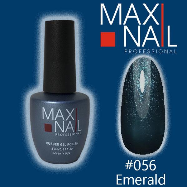 Гель-лак MaxiNail rubber gel polish #056 8 ml