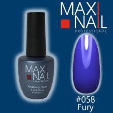 Гель-лак MaxiNail rubber gel polish #058 8 ml