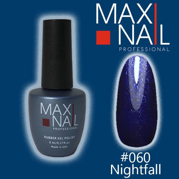 Гель-лак MaxiNail rubber gel polish #060 8 ml