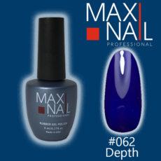 Гель-лак MaxiNail rubber gel polish #062 8 ml