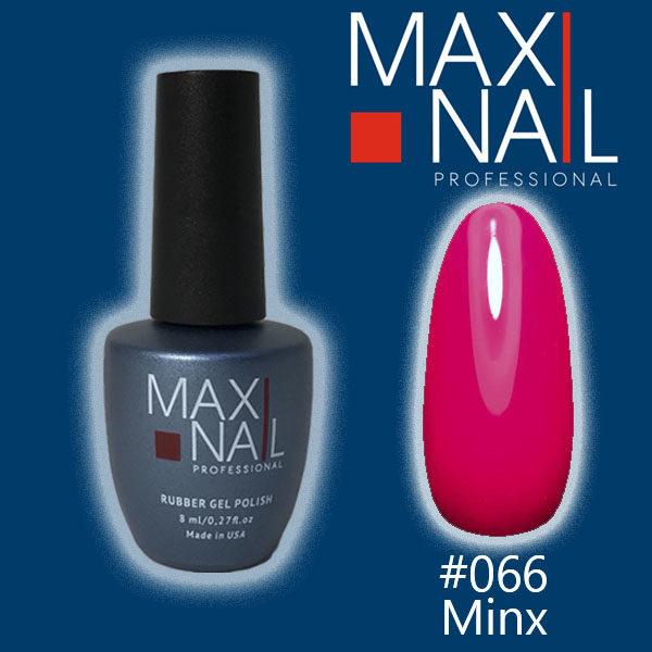 Гель-лак MaxiNail rubber gel polish #066 8 ml