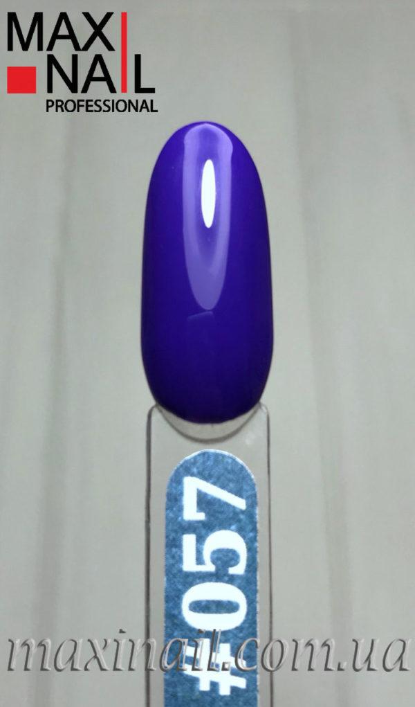 Гель-лак MaxiNail rubber gel polish #057 8 ml