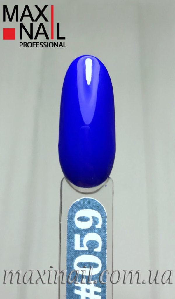 Гель-лак MaxiNail rubber gel polish #059 8 ml