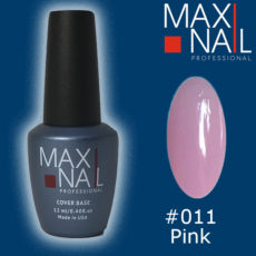 Нюдовая база MaxiNail Rubber Cover Base Nude #011 12 ml
